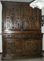 bahut breton style henri ii ch ne massif vente et achat bahut breton style henri ii ch ne. Black Bedroom Furniture Sets. Home Design Ideas